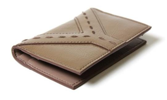 69c359bc2ec Yves Saint Laurent Tan Patent Leather Wallet Business Card Case, Stuff To  Buy, Lifestyle