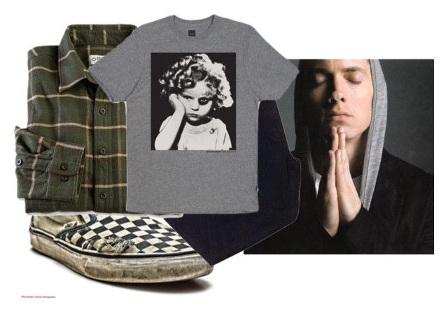 """""""Eminem Concert"""" by chemicallysuprised ❤ liked on Polyvore featuring Urban Outfitters and HUF"""