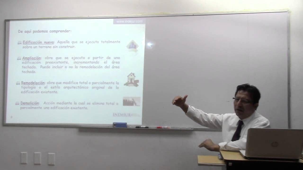INDeJUR - Aplicacion de la Ley 29090 en la Declaratoria de Fabrica #AhorroeInversion
