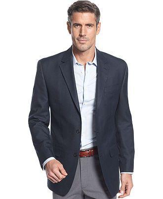 sport coat, trousers, sport shirt, no tie | Business Casual ...