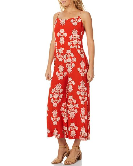 cfbd8550ff BENGAL ORANGE WOMENS CLOTHING TIGERLILY PLAYSUITS + OVERALLS - T375410BORG