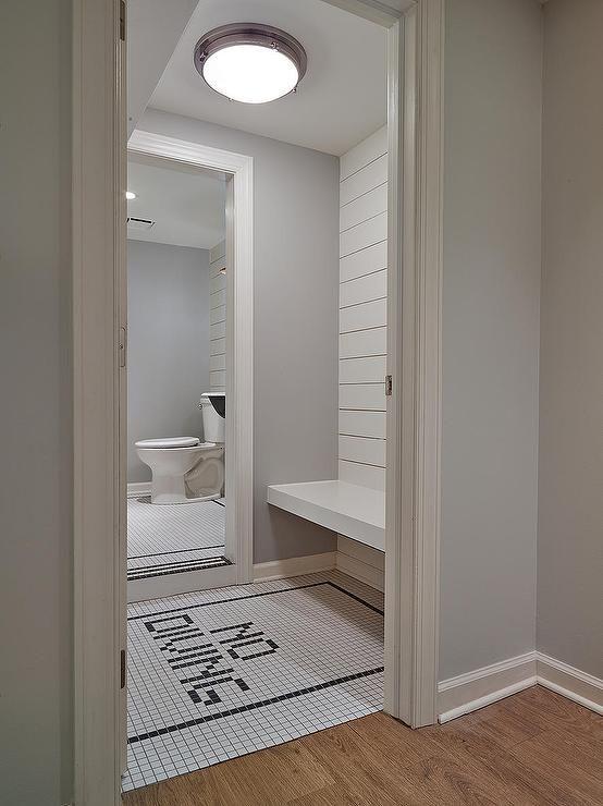 Would Be Cute For A Pool House Kids Bathroom Floor Tile Ideas Fun