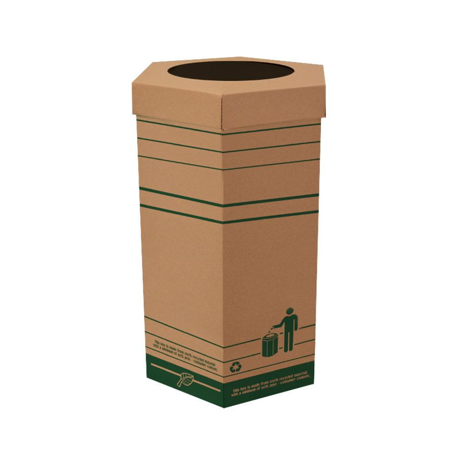 Trash Cans S Cardboard Can Large Garbage
