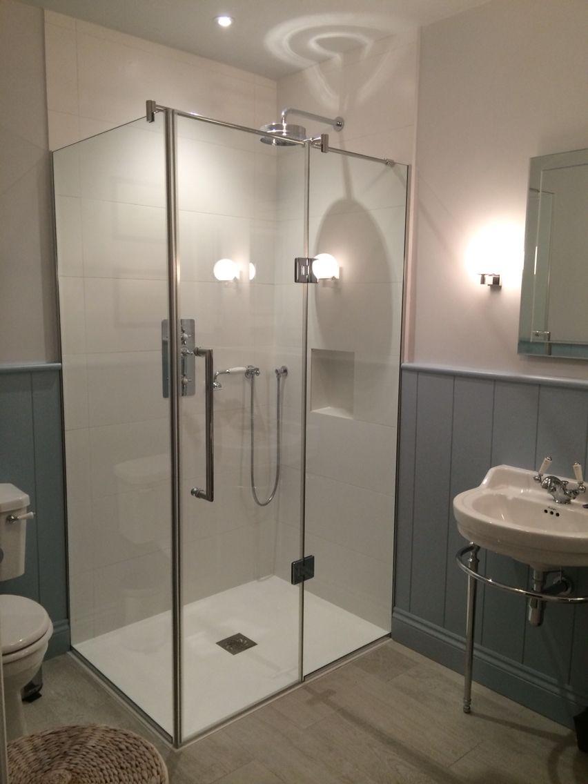 Bespoke frameless shower