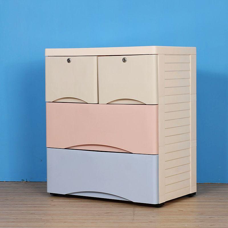 Thickening Baby Plastic Drawer Storage Cabinets Lockers Baby Wardrobe  Cabinet Chest Of Drawers Organize Child Shoe