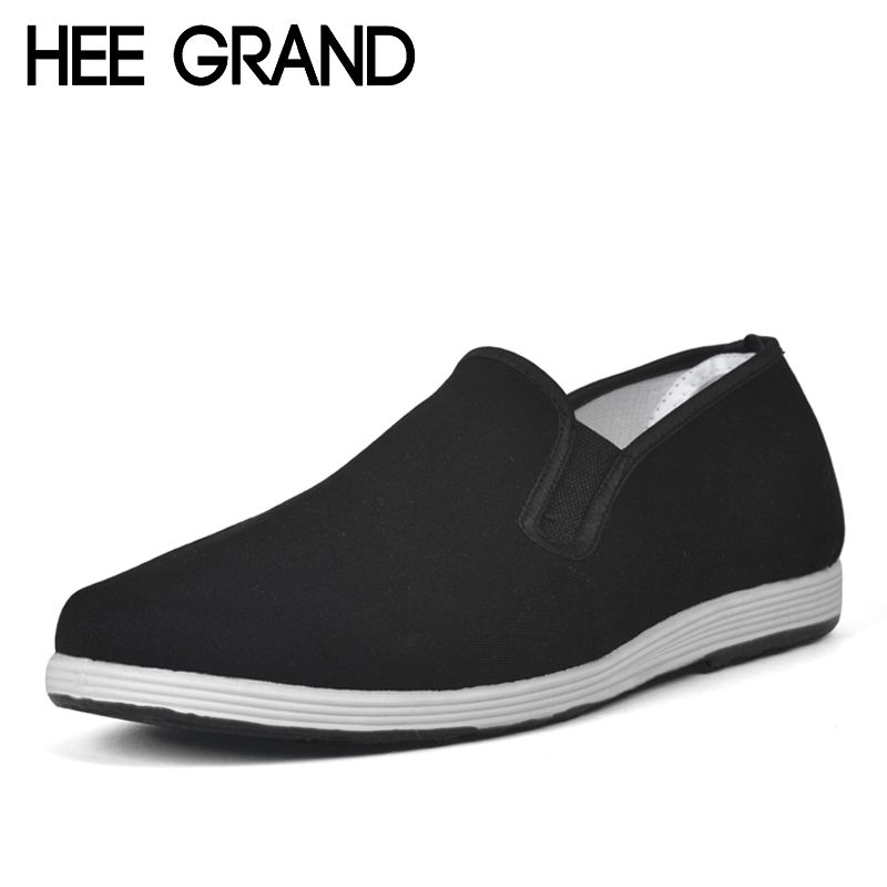 Low Price Mens Breathable Casual Shoes Canvas Casual Shoes Slip On Fashion Flats Loafer