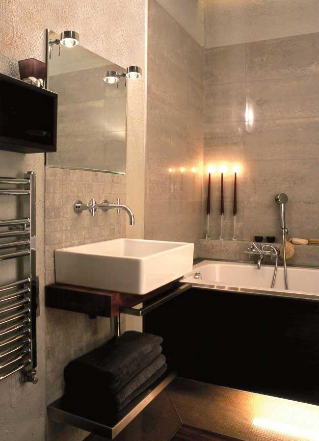 Spiegeleinbauleuchte Puk Mirror Badezimmerleuchte   Top-Light kaufen ...