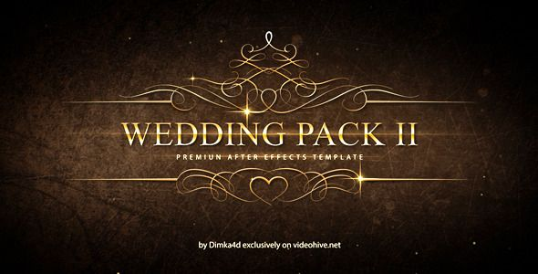 Wedding Pack Ii After Effects Template See It In Action Https