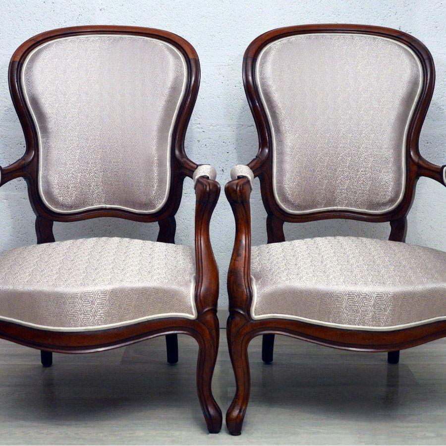 fauteuils de style louis philippe