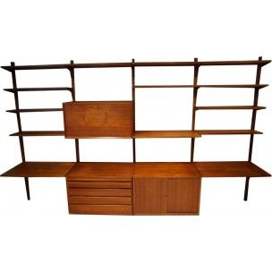 d2a3be84e334af Etagère et bibliothèque vintage années 50 60 70 - Design Market ...