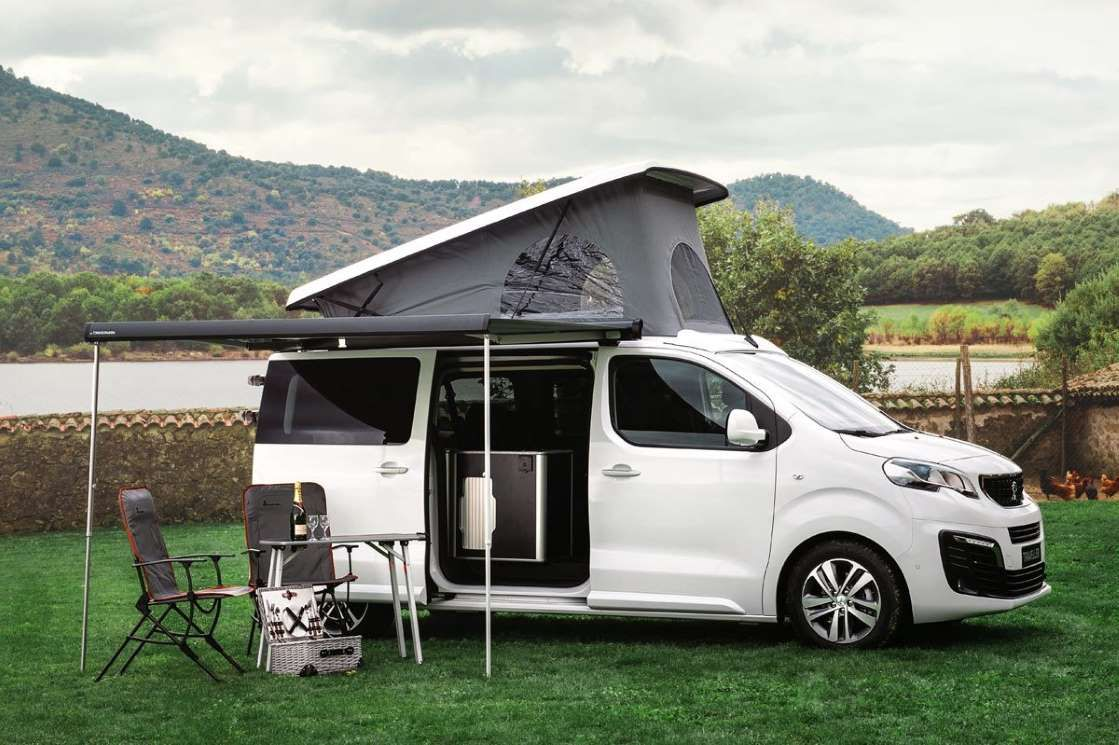 peugeot traveller by tinkervan la camper apta para el d a. Black Bedroom Furniture Sets. Home Design Ideas