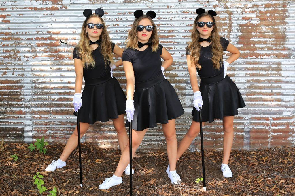 3 Blind Mice Costumes Cgh Brooklyn Bailey Trio Halloween Costumes Cute Group Halloween Costumes Halloween Costumes Friends