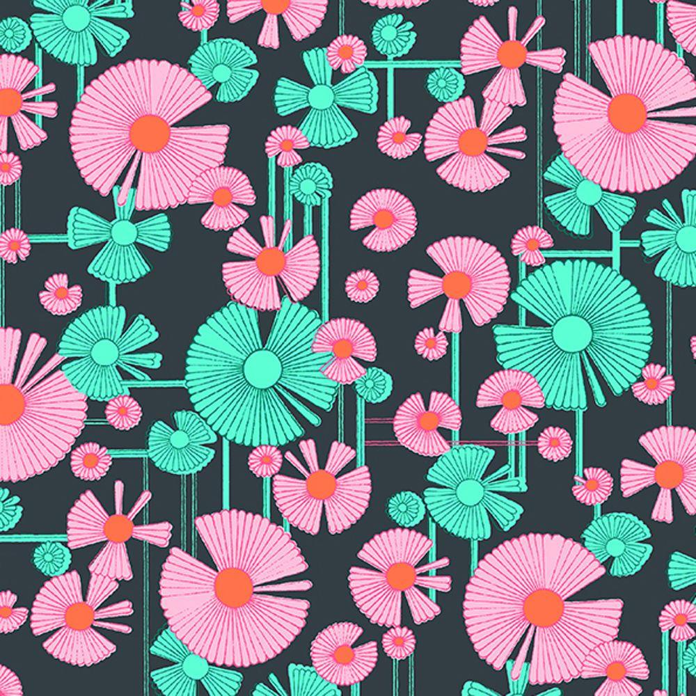 """AMY BUTLER /""""GLOW/"""" WIND FLOWER Berry by yard"""