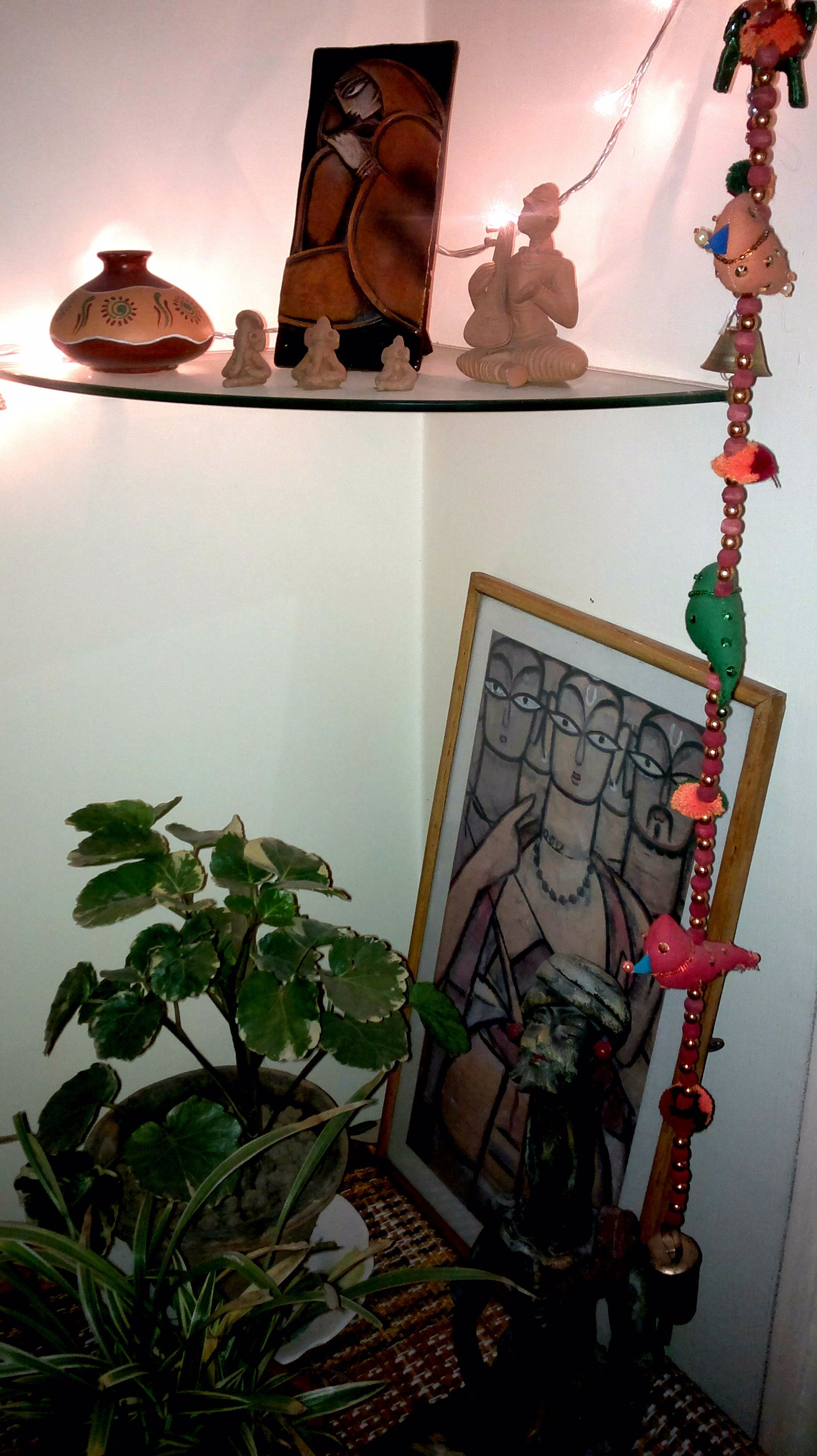 I Adore Indian Handicrafts A Corner Of My Living Room Totally