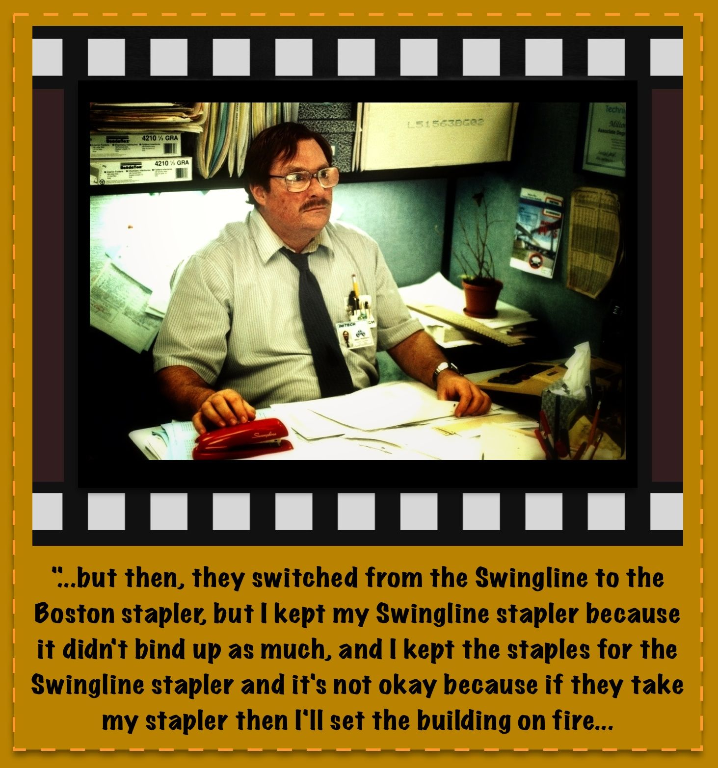 Office space tps report quote - Office Space