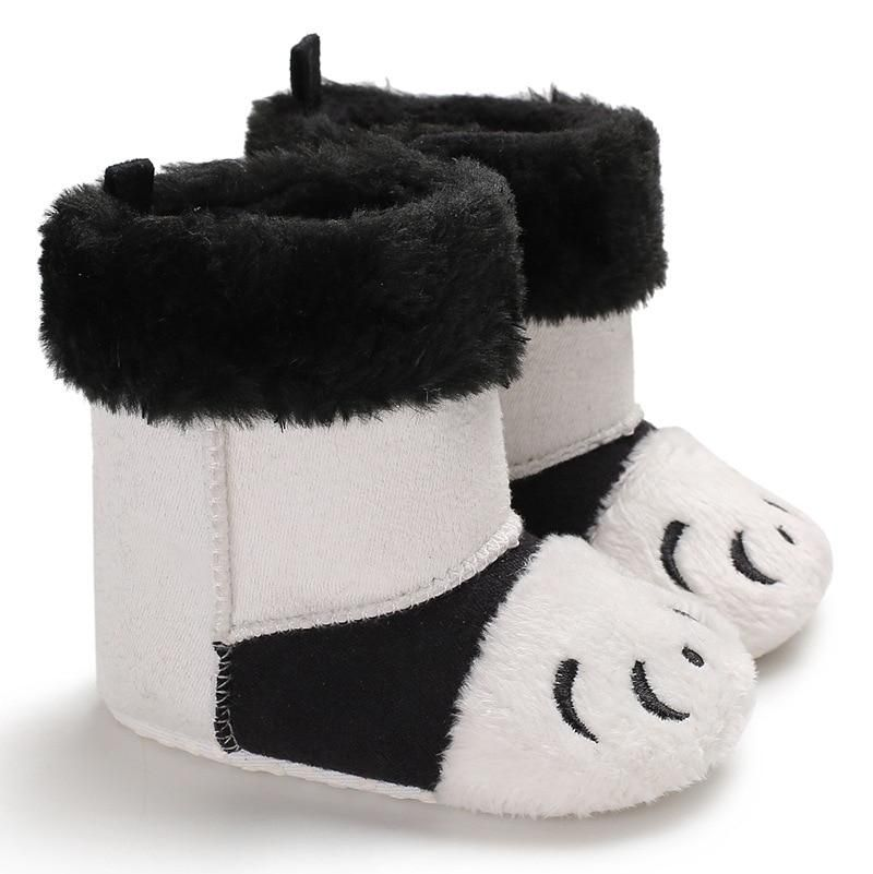 894cfb79903 Raise Young Cartoon Winter Warm Baby Booties Plus Velvet Embroidery Toddler  Baby Girl Snow Boots Infant