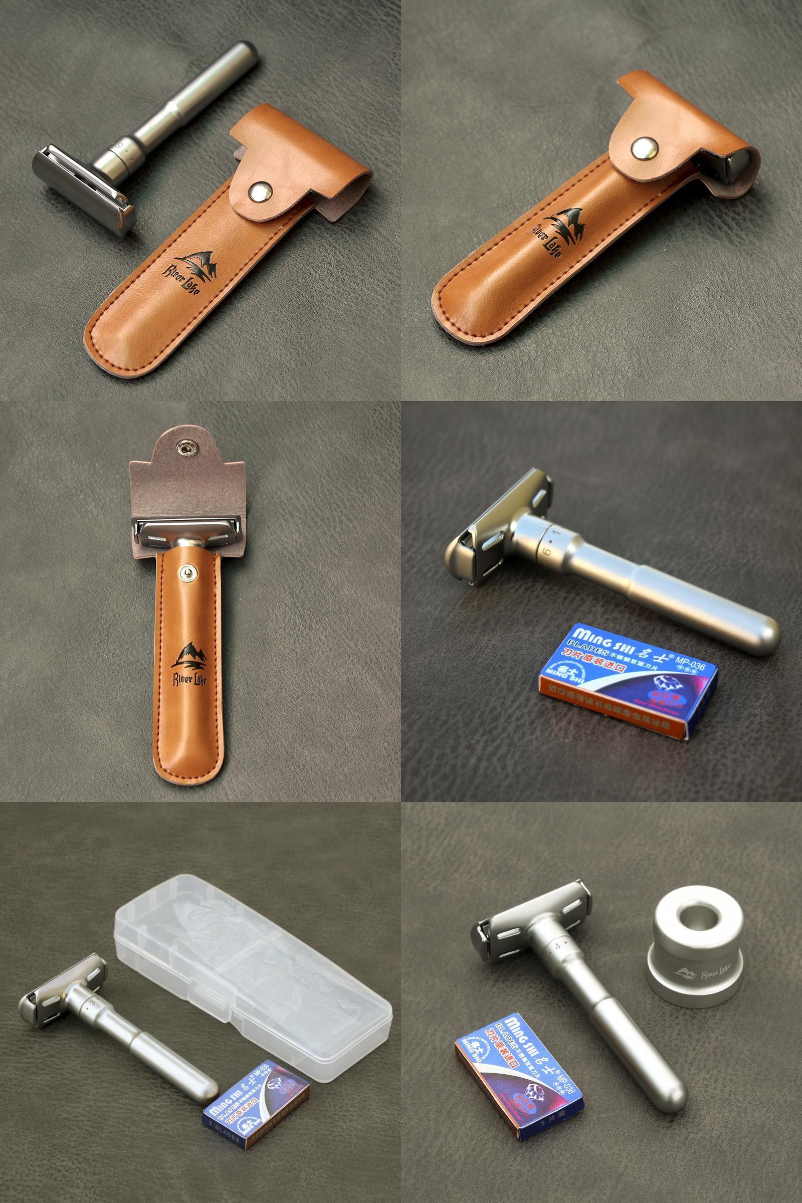 [Visit to Buy] Safety Razor straight razor For Men