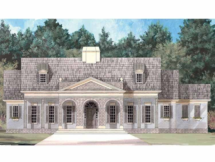 Eplans NeoClassical House Plan - Comfortably Elegant Style - 1931
