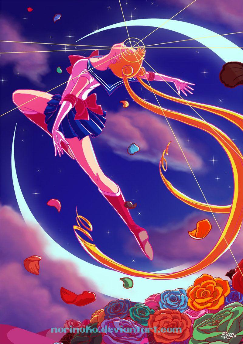 Sailor Moon By Norinoko On Deviantart Sailor Moon Manga Sailor Moon Usagi Sailor Moon Wallpaper