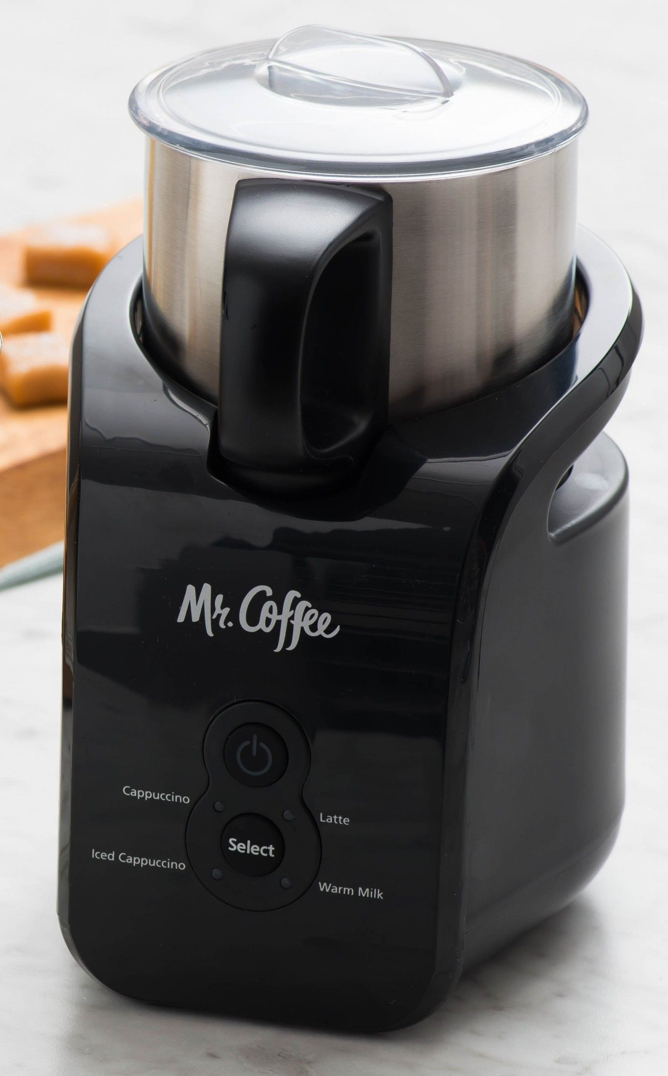 The Mr Coffee Automatic Milk Frother Will Become An Integral Part Of Your Morning Routine