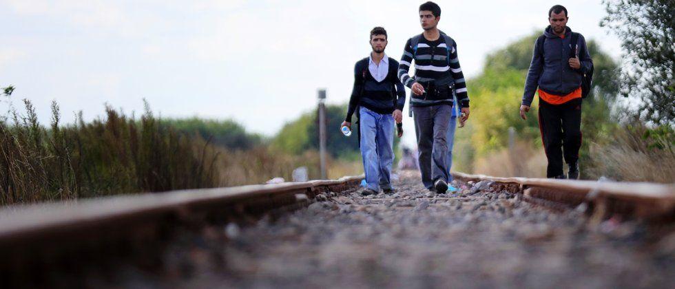 Flüchtlingspolitik : Polens Priester des Hasses In Polen protestieren Bürger und rechte Gruppen wütend gegen die Aufnahme muslimischer Flüchtlinge. Der Nationalist Jarosław Kaczyński befeuert den Streit im Wahlkampf. Von Michał Kokot, Warschau