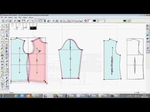 apparel CAD V9 whole demo | Video of Richpeace Garment