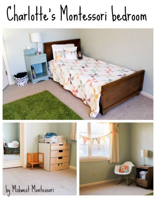 Midwest Montessori Our Bedrooms Inspiration For Mixed Age Bedroom E