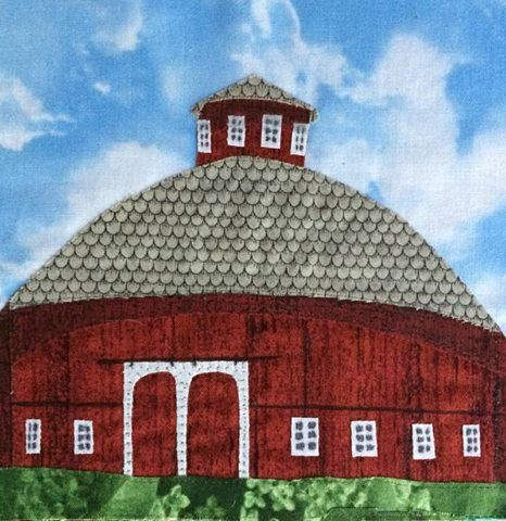 Round Barn from Nappanee by Connie Kaufman