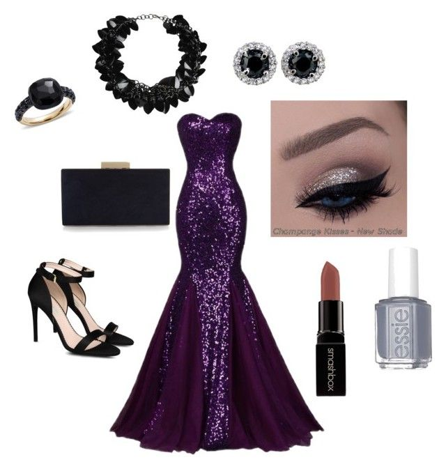 """""""Upscale Gala"""" by breana-m-jackson-rose on Polyvore featuring STELLA McCARTNEY, Monsoon, Pomellato, First People First, Essie and Smashbox"""
