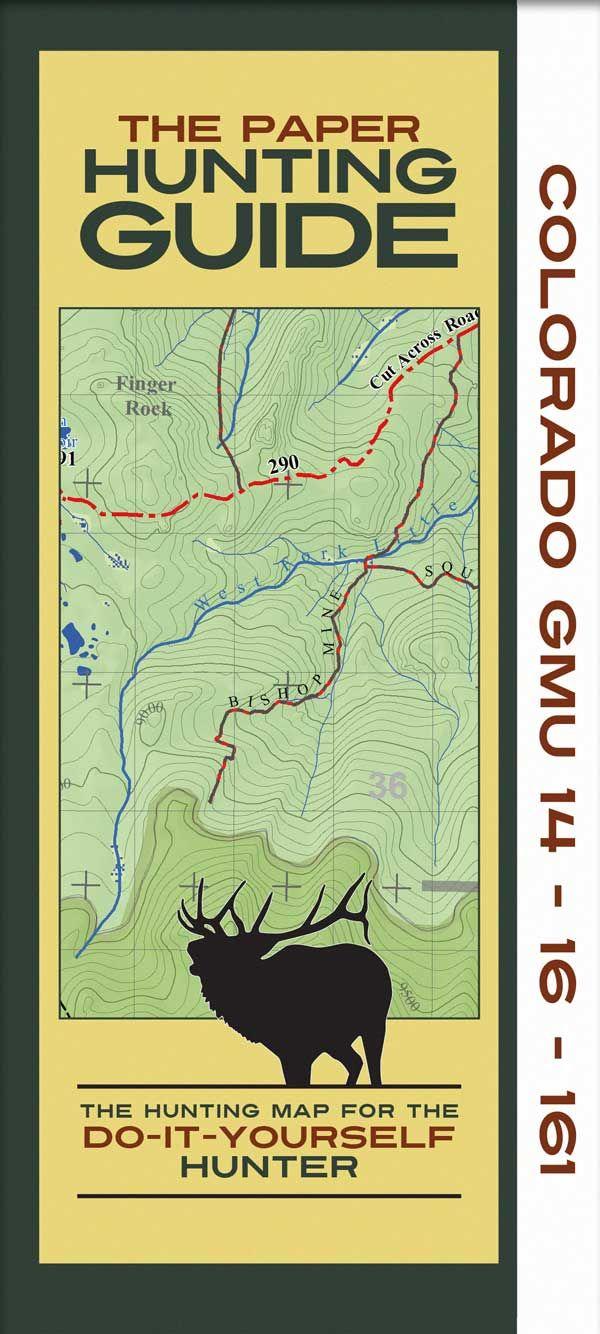 Topographic Hunting Map Daves elk info Elk hunting