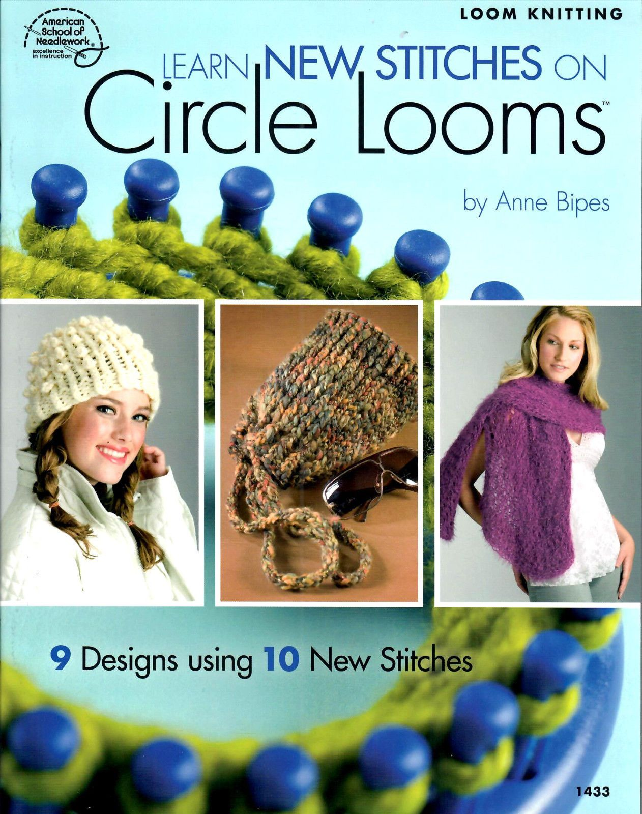 Sale! Loom Pattern Book! 10 Stitches For Circle Looms! 9 Patterns ...
