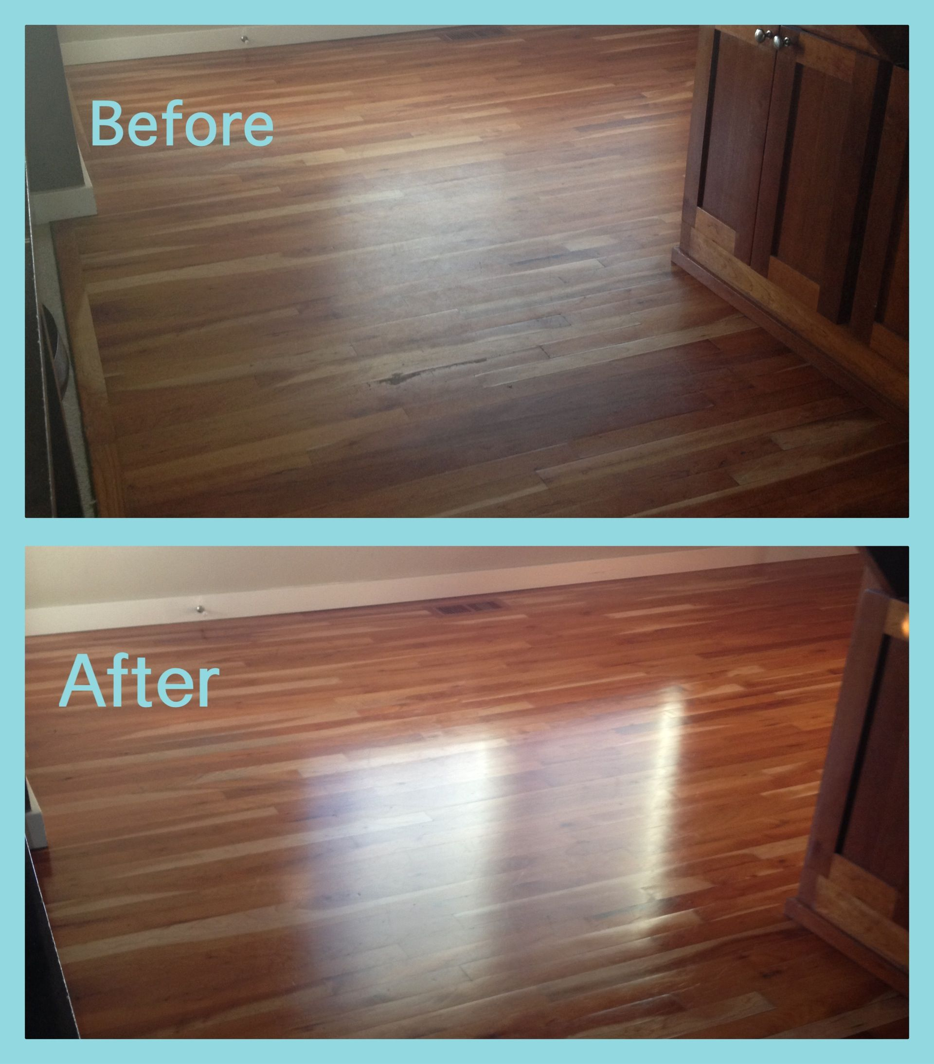 What a difference bona swedish formula high gloss for Reparar aranazos parquet