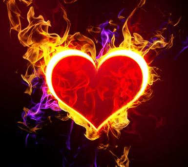 صور قلوب حب 2020 خلفيات قلوب رومانسية Fire Heart Heart Wallpaper Heart Gif