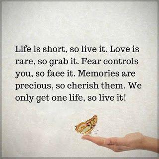 Live Life - No Regrets