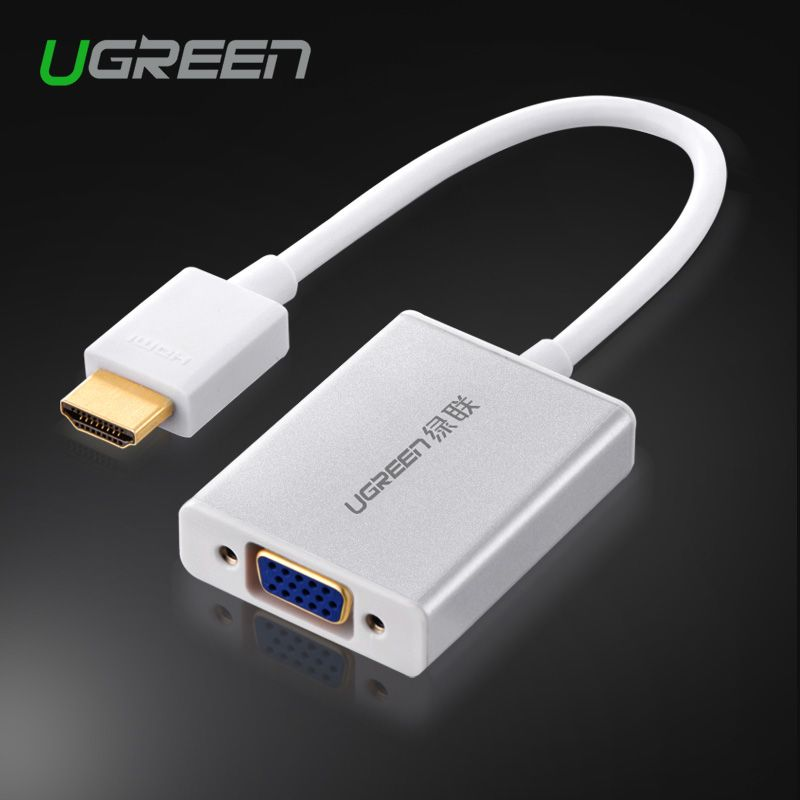 HDMI to VGA Digital to Analog Video Audio Converter Cable for Raspberry Pi PC