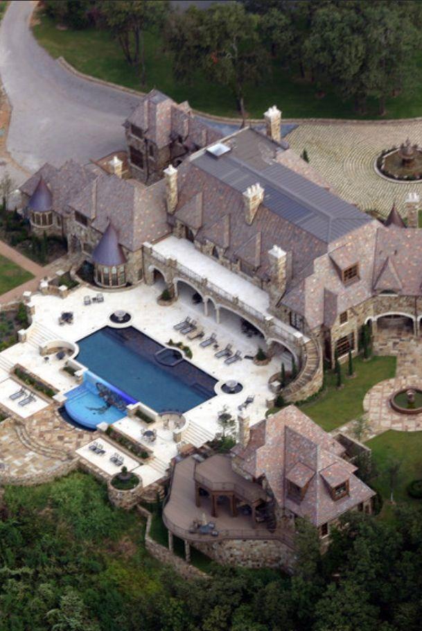 Luxury Dream Home In Dallas Grand Mansions Castles Dream Homes