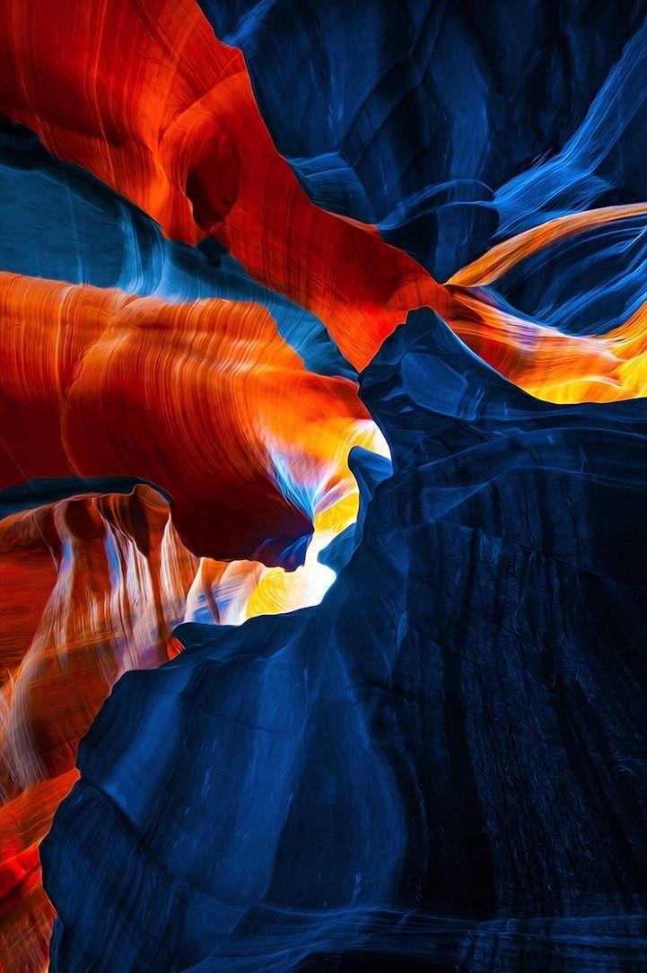 El Cañón del Antílope por Gregory Boratyn