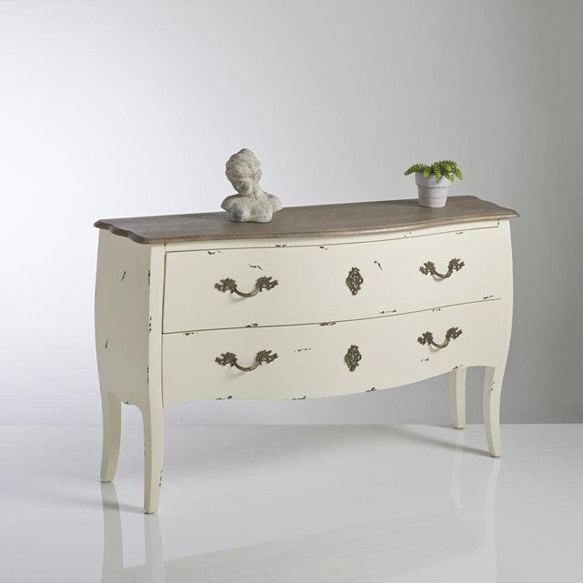 Blanc D Ivoire Ladenkast.Commode 2 Tiroirs Lipstick Commode Chambre Commode