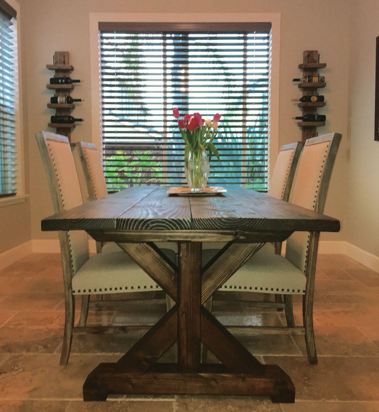 DIY Farmhouse table Ana White Diy farmhouse table, Diy