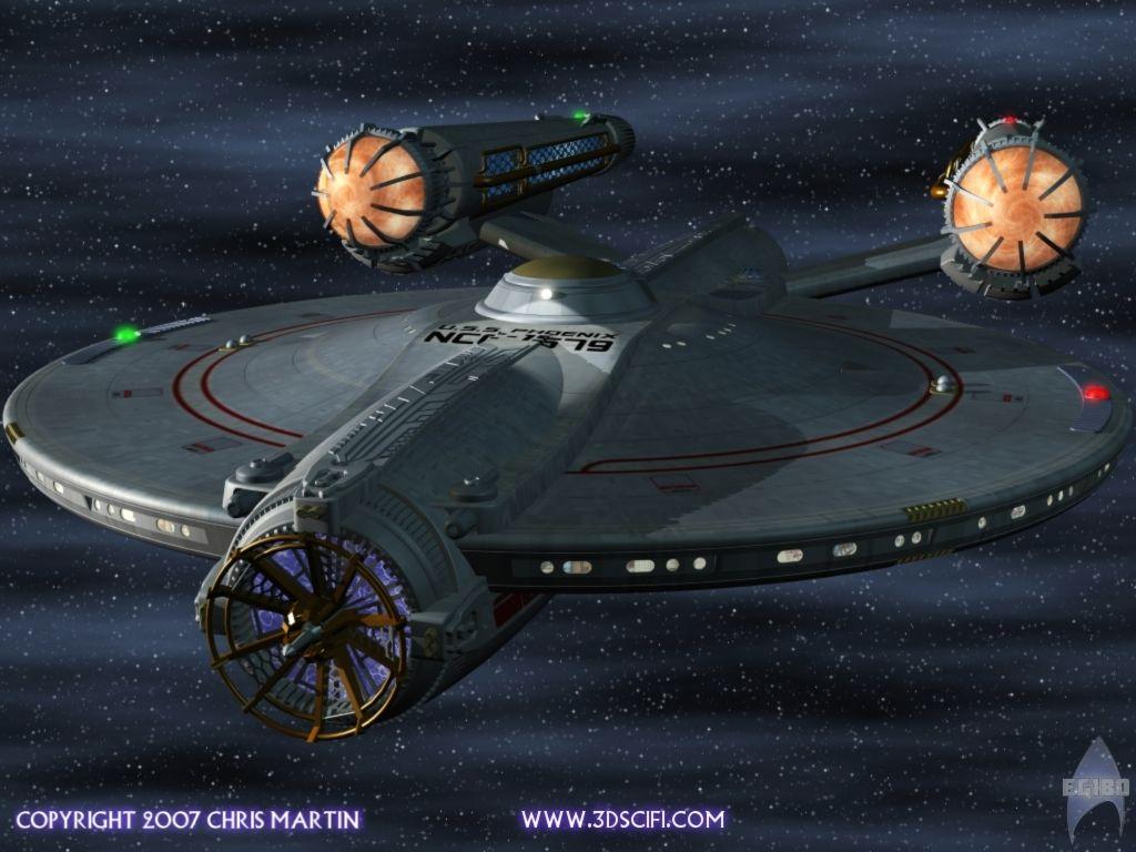 TOS-era fan design by Chris Martin | Just Rad! | Star trek