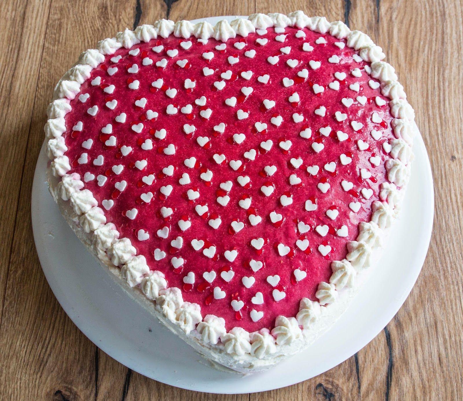 Valentinstag Kuchen In Herzform valentinstag kuchen