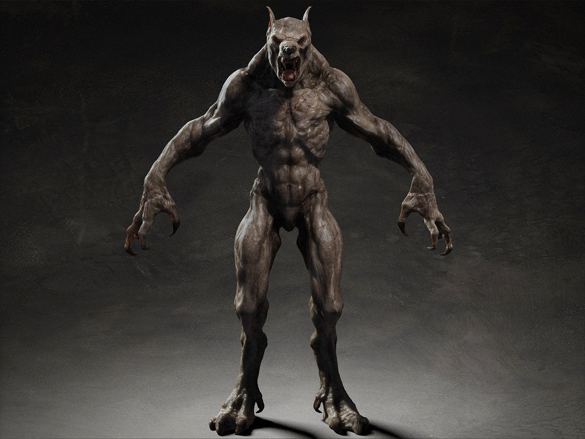 Werewolf 3d google search z brush pinterest for Createur 3d
