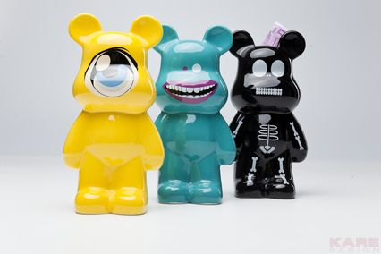 Tirelires Funky Bear New Generation ass.