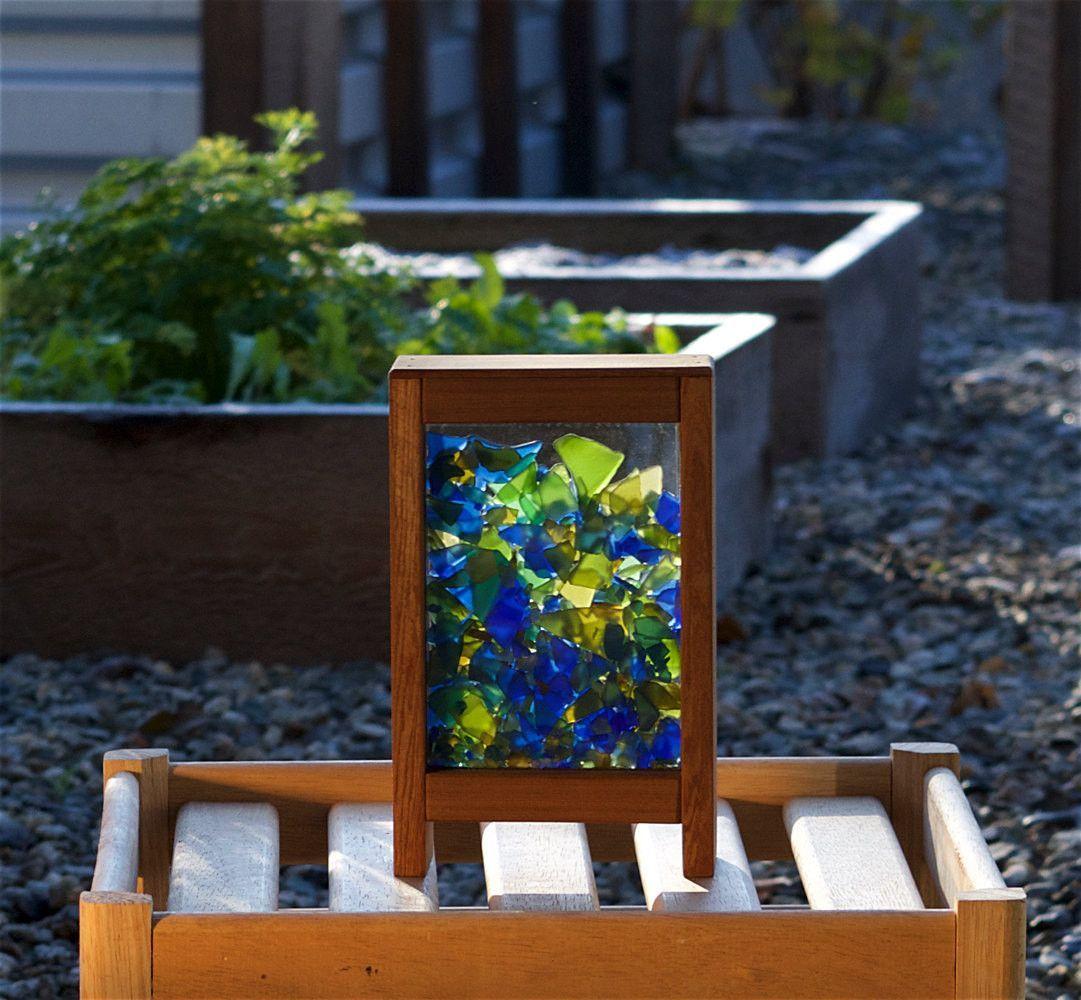Freestanding Colorful Glass Suncatcher Kaleidoscope