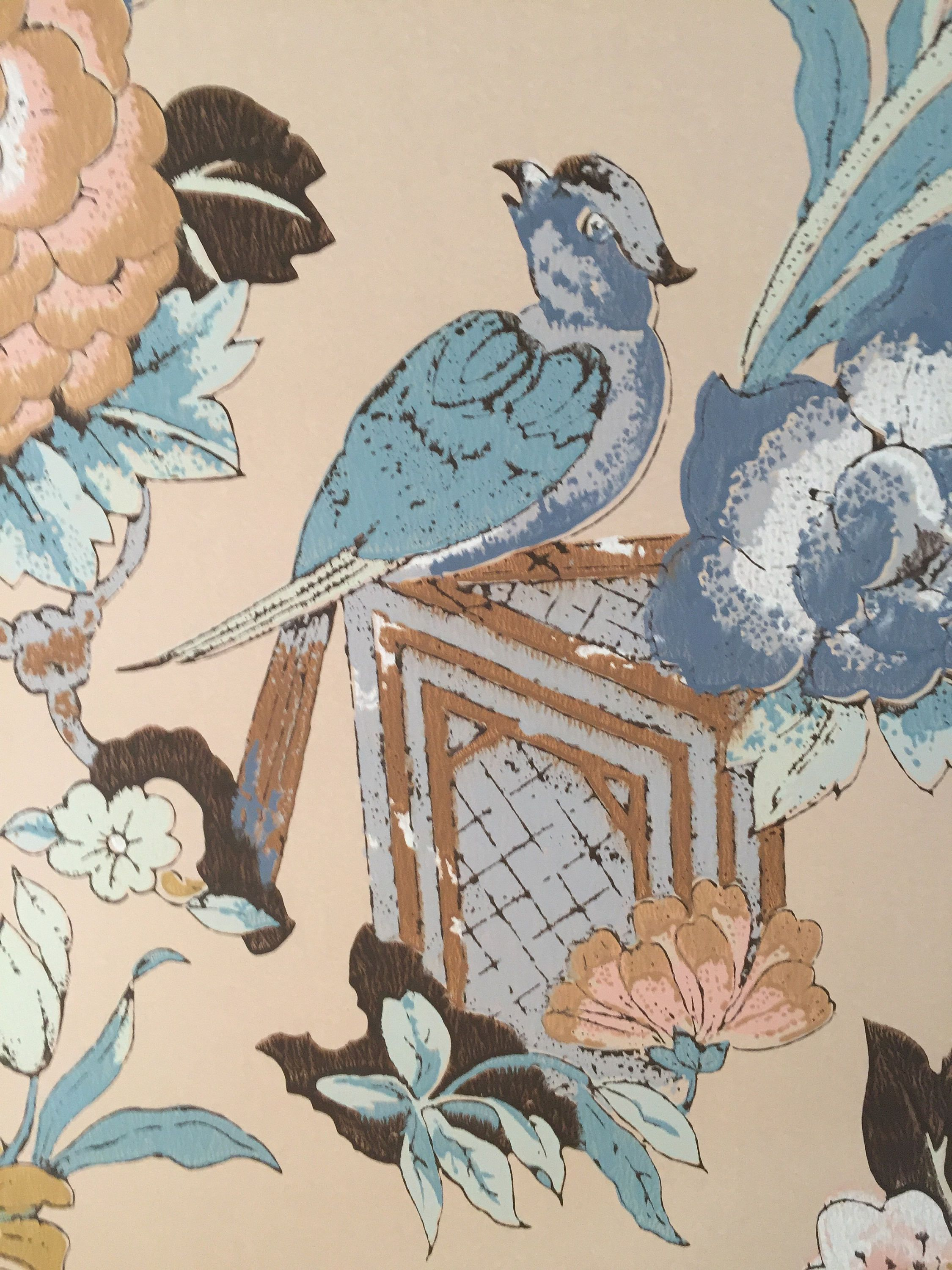 Pin by 1006 Osage on Floral Fun Chinoiserie wallpaper
