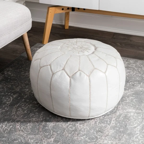 Overstock Com Online Shopping Bedding Furniture Electronics Jewelry Clothing More Pouf Ottoman Leather Pouf Leather Ottoman