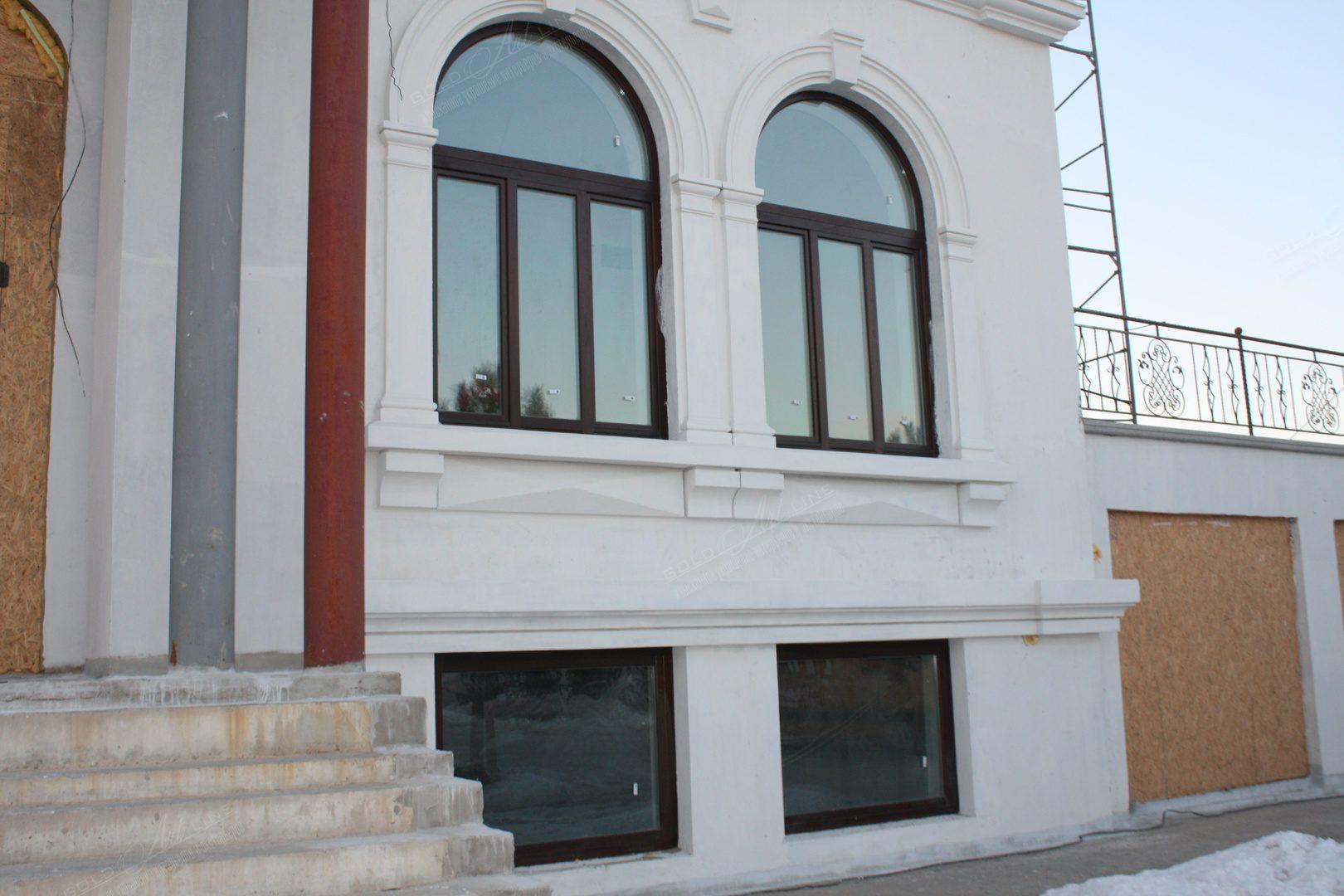 Фасады домов фибробетона затирка бетона вертолетом москва