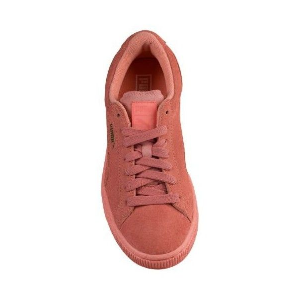 PUMA Suede Classic Girls' Grade School (£38) ❤ liked on Polyvore featuring shoes and sneakers