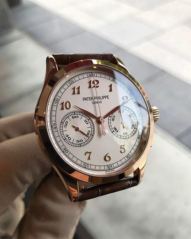 PatekPhilippe ref. 5170G chronograph in rose gold.  calendar  wristwatch   milionaresclub  watchfam  wristcandy  dailywatch  rolexero  rolexwrist ... 9c112b31e3