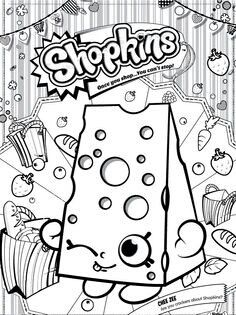Shopkins Chee Zee Coloring Pages Printable And Book To Print For Free Find More Online Kids Adults Of